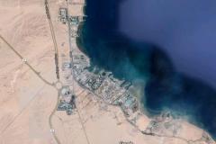 Satellitenbild von Hurghada