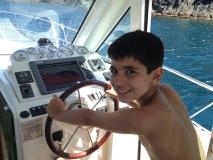 Heute war Philip der Kapitän!