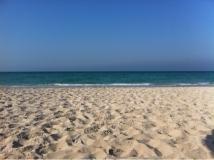 Der Blick auf den Persischen Golf