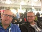 Hannover Airport - Warten auf den Abflug