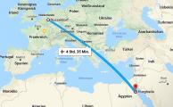 Endlich Abflug nach Hurghada