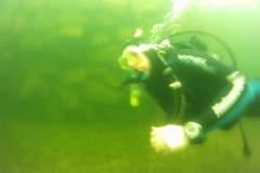 Unterwasser-Maik