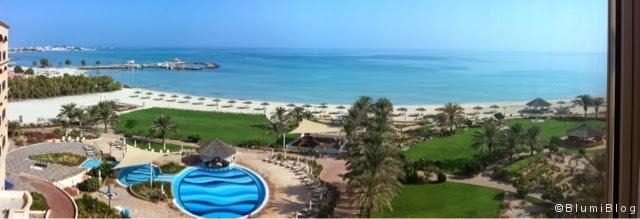 Ein Blick aus dem Hotel!