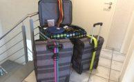 Koffer sind gepackt!